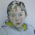 Antonio, 50 x 50 cm, Acryl auf Leinen