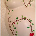 ...mit Herzblüte für das entstehende Leben.