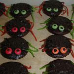 Tolle Spinnenkuchen