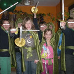 Ringgefährten mit Elfenschwertern