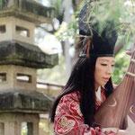 琵琶奏者:大峯香風