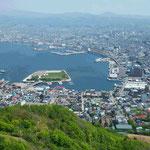 函館山からの昼景(風景)。あまり見る事が出来ないので撮影しました(盛岡 木皿 義倫さん)