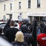 """""""Redebeitrag"""" des NPD-Bezirksvorsitzenden Daniel Weigl."""