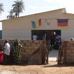 Die Krankenstation in Barafaye