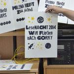 Lesenacht 2014: Wir fliegen nach Gorky