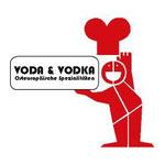 Logo für das polnische Feinkostgeschäft Voda & Vodka