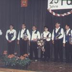 1995 25-Jähriges Jubiläum - Aktive Gründungsmitglieder