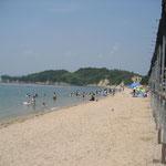 大串海水浴場の7月頃