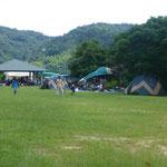 大串海水浴場で浜と隣接しています「ようこそ大串海水浴場へ」http://www.kamisupo.com/