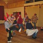 Weihnachtsfeier 2012 - Die sieben Zwerge