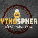 """Logo de l'enseigne de bar & cave à bières """"La Zythosphère"""""""