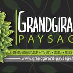 Carte de visite (recto) pour Grandgirard Paysage à Beaucourt (90)