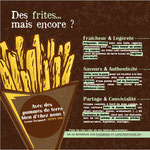 Flyer (verso) pour La Petite Patate de Petra, friterie ambulante à Lepuix (90)