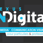 Recto carte de visite personnelle pour Nexus Digital