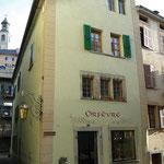 Orfèvrerie, rue des Tanneries Sion