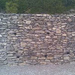 Mur en pierres, Sierre