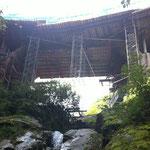 Pont sur la Tine, Troistorrents