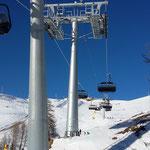 Pylone télésiège Montana-Arnouva