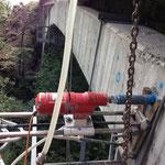 Pont du Fayot à Troistorrents 2013