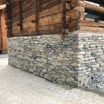 Mur en pierres sèches, Evolène