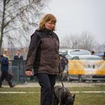 Sabine Dietz mit Aika vom Flensburger Land