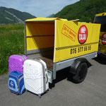 Gepäckanhänger 2 x 1.05 x 0.8 Meter Ladefläche