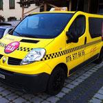 8-plätzer Taxi, Renault Trafic