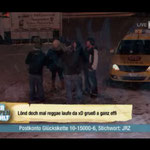 """McTAXI Live im Fernsehen –Anlässlich von """"Jeder Rappen zählt"""" 2010"""