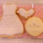 ウェディングプチギフトのアイシングクッキー