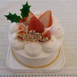 クリスマスケーキいちごデコレーション4号(12cm)