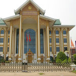 Lao National Culture Hall, ein moderner Prachtbau