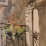 La cour / The courtyard   SOLD