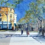 le quai à Narbonne  Quayside at Narbonne