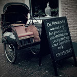 Display voor restaurant Opium in Utrecht