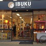 Display van een ventkar van De Vervoering voor toko Ibuku in Zeist
