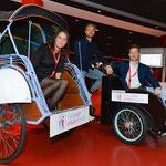Tijdens het werven van chauffeurs voor 'Breda op een riksja'