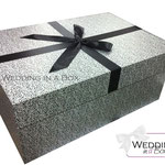 Brautkleidbox - Silver Deluxe von www.weddinginabox.de