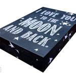 Brautkleidbox - Chalkboard von www.weddinginabox.de