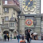 Pier 58 in Bern ist gleich bei der Zytglogge.