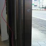 自動ドア用補助光線新設工事