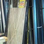 アルミ製框ドア製造搬入