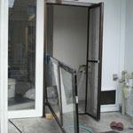 自動ドア錠取替え工事