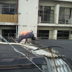 屋根上防水・補修・板金工事