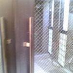 ドアハンドルの取替え工事