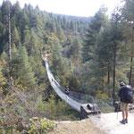 """eine von vielen """"suspension bridge"""""""
