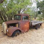schöner alter rostiger Truck