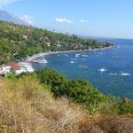 Schnorcheln bei Amed, Bali