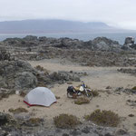 beautiful Campspot on teh beach
