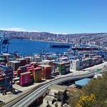 harbour of Valparaiso