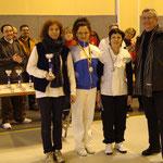 Christine est Vice-Championne de Ligue, Félicitations !